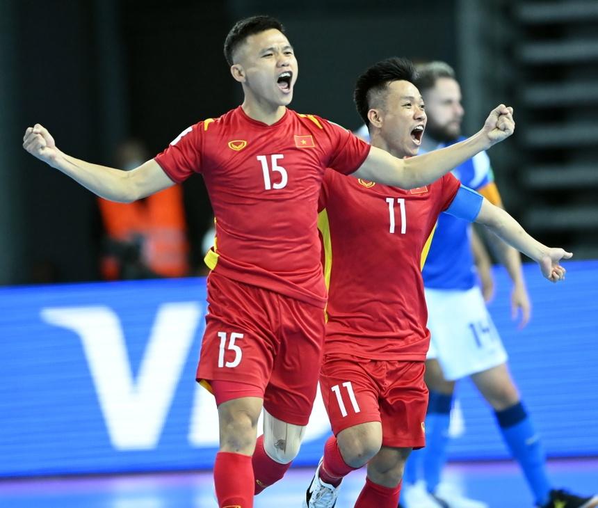 Futsal Viet Nam World Cup anh 1