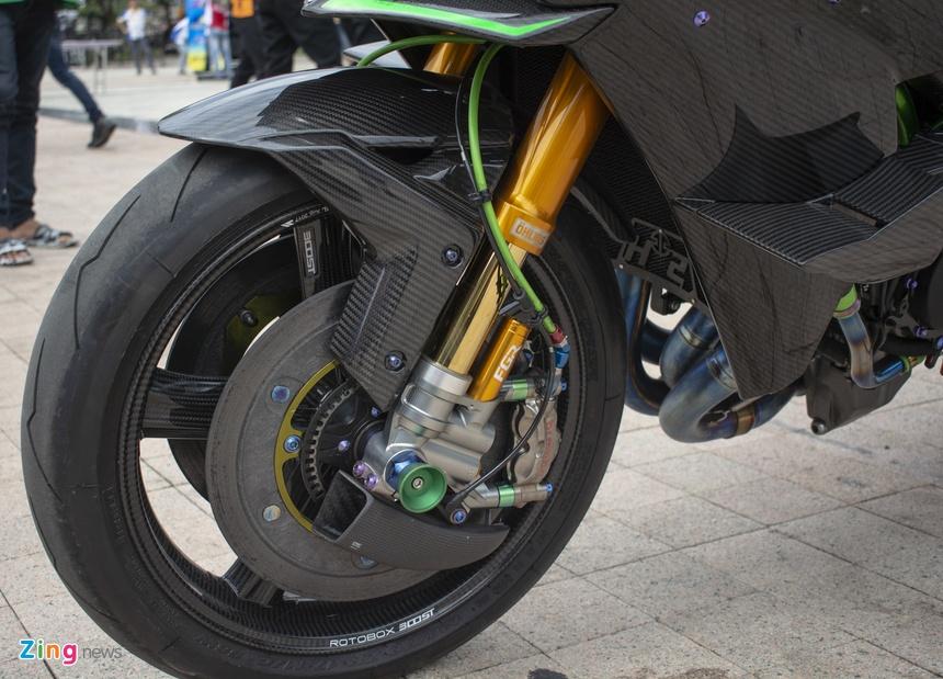 Kawasaki Ninja H2r Giá Hơn 3 Tỷ đồng Của Biker An Giang Lái Xe