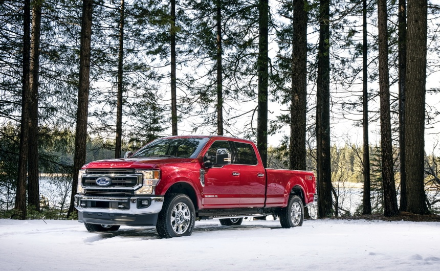 Ford F-Series Super Duty 2020 them dong co 7.3L, hop so 10 cap hinh anh 8