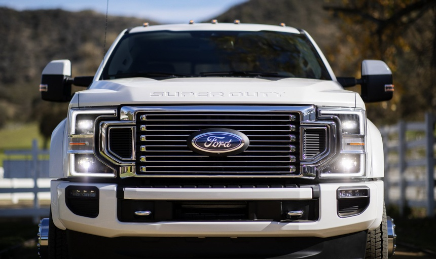 Ford F-Series Super Duty 2020 them dong co 7.3L, hop so 10 cap hinh anh 6