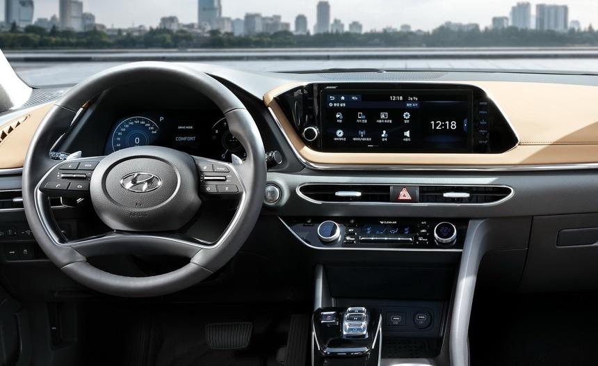 Hyundai Sonata the he thu 8 gong minh tao dang cap moi cho xe Han hinh anh 7