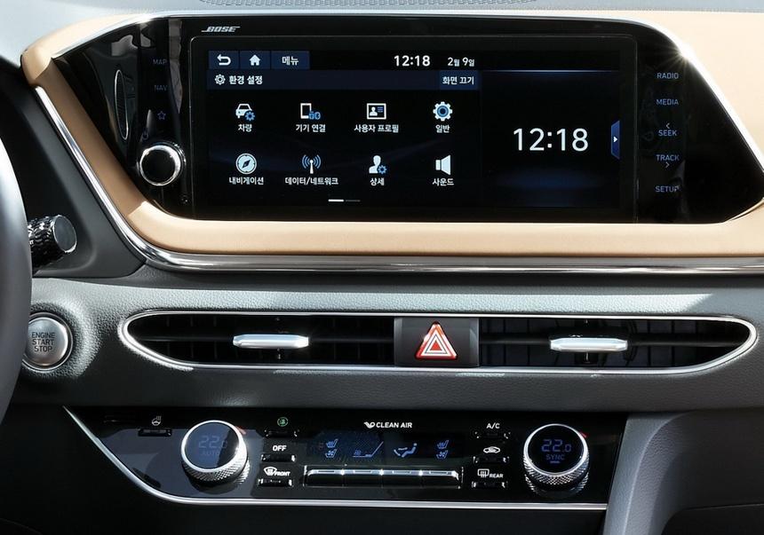 Hyundai Sonata the he thu 8 gong minh tao dang cap moi cho xe Han hinh anh 9