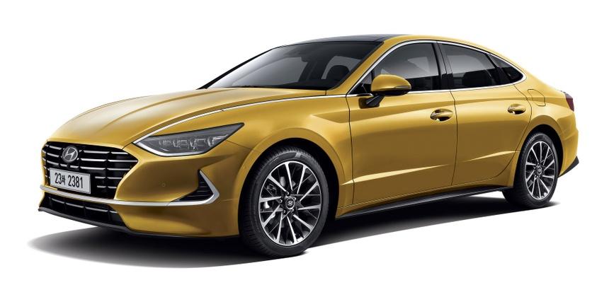 Hyundai Sonata the he thu 8 gong minh tao dang cap moi cho xe Han hinh anh 1