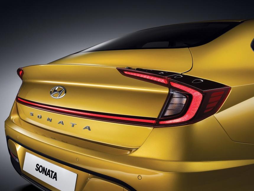 Hyundai Sonata the he thu 8 gong minh tao dang cap moi cho xe Han hinh anh 3