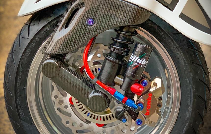 Vespa Sprint 'do' len 185 cc va goi phu kien gan 200 trieu hinh anh 7