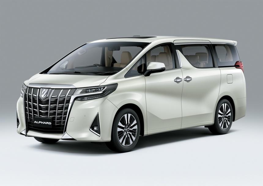 Toyota Alphard 2021 ra mat anh 1