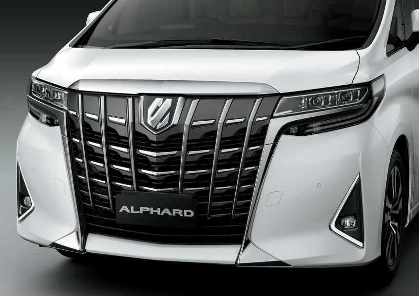 Toyota Alphard 2021 ra mat anh 3