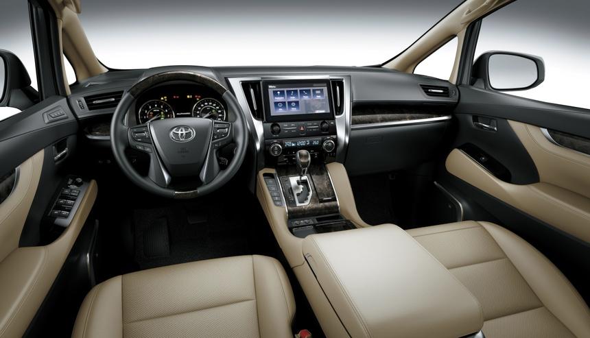 Toyota Alphard 2021 ra mat anh 2