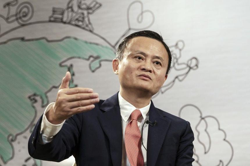 """Tỷ phú Jack Ma, người giàu nhất Trung Quốc và là nhà sáng lập Alibaba cổ vũ văn hóa làm việc """"996"""". Ảnh:"""