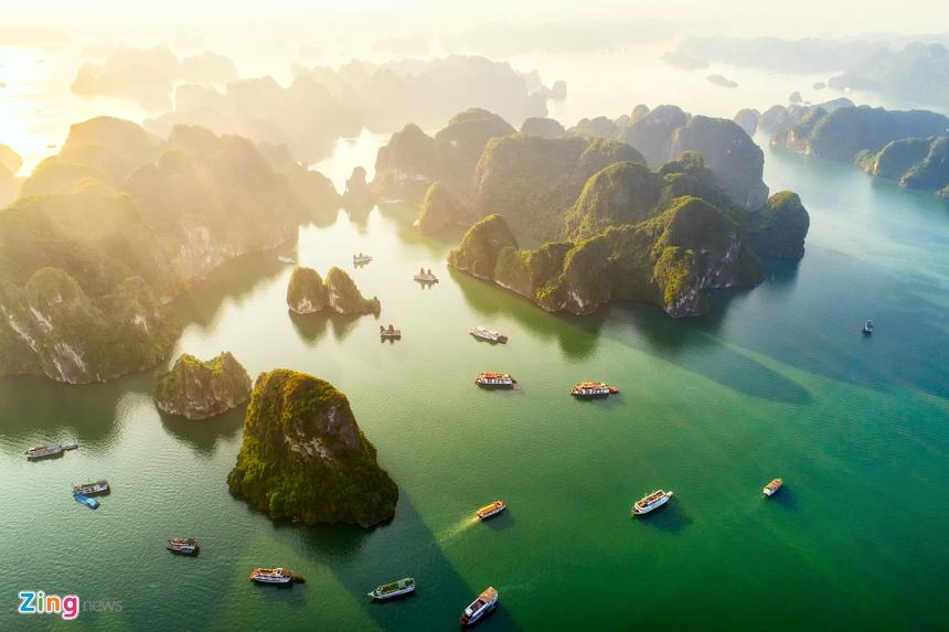 10 điểm đến Việt Nam đẹp huyền ảo qua ảnh chụp từ trên cao