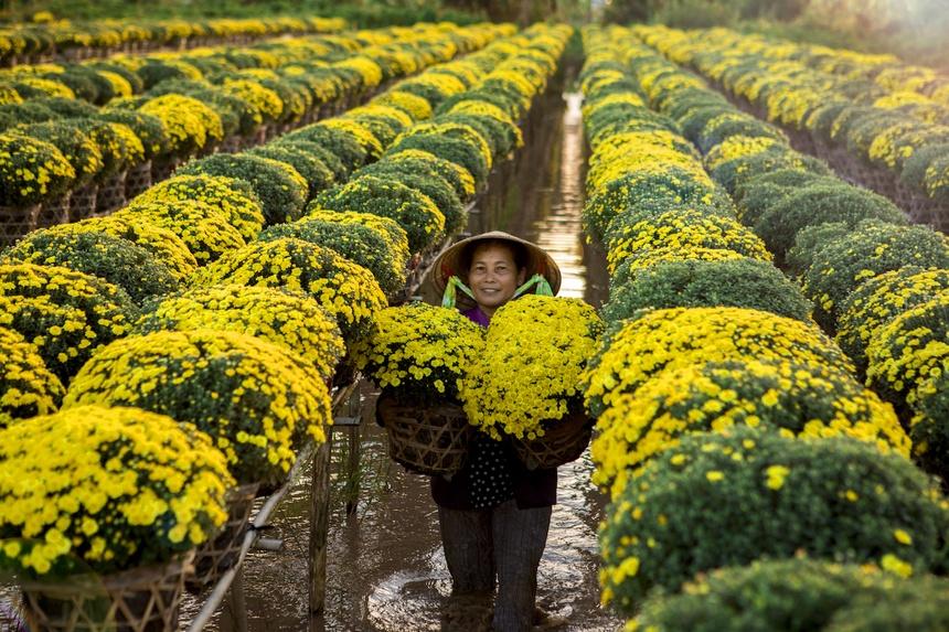 'Vuong quoc hoa' mien Tay nhung ngay giap Tet hinh anh 8