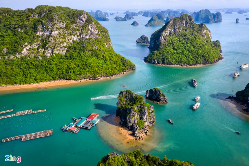 Nhung lang chai du lich o hai vinh dep nhat Quang Ninh hinh anh 2