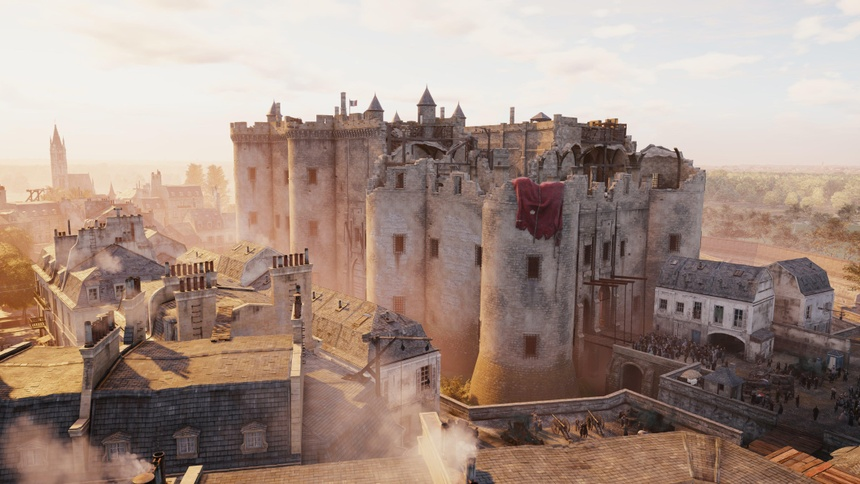 Co mot Nha tho Duc Ba nguyen ven trong game Assassin's Creed Unity hinh anh 4