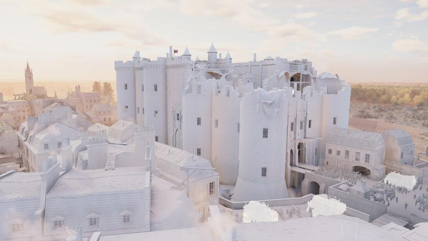 Co mot Nha tho Duc Ba nguyen ven trong game Assassin's Creed Unity hinh anh 5