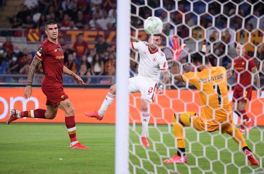 Roma dau CSKA Sofia anh 1