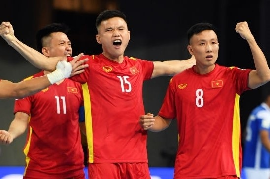 Futsal Viet Nam anh 1