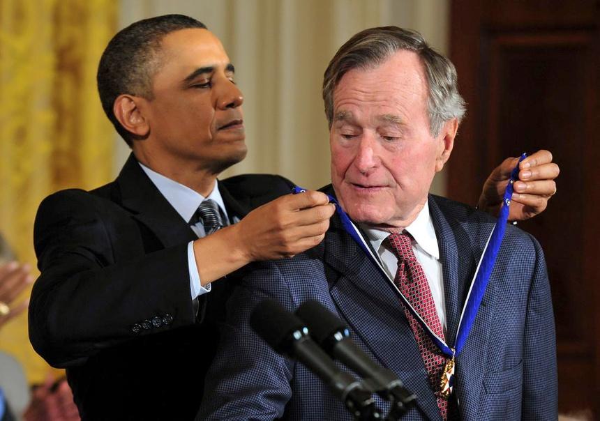94 nam cuoc doi cua Bush 'cha': Tu de che dau mo toi Chien tranh Lanh hinh anh 13
