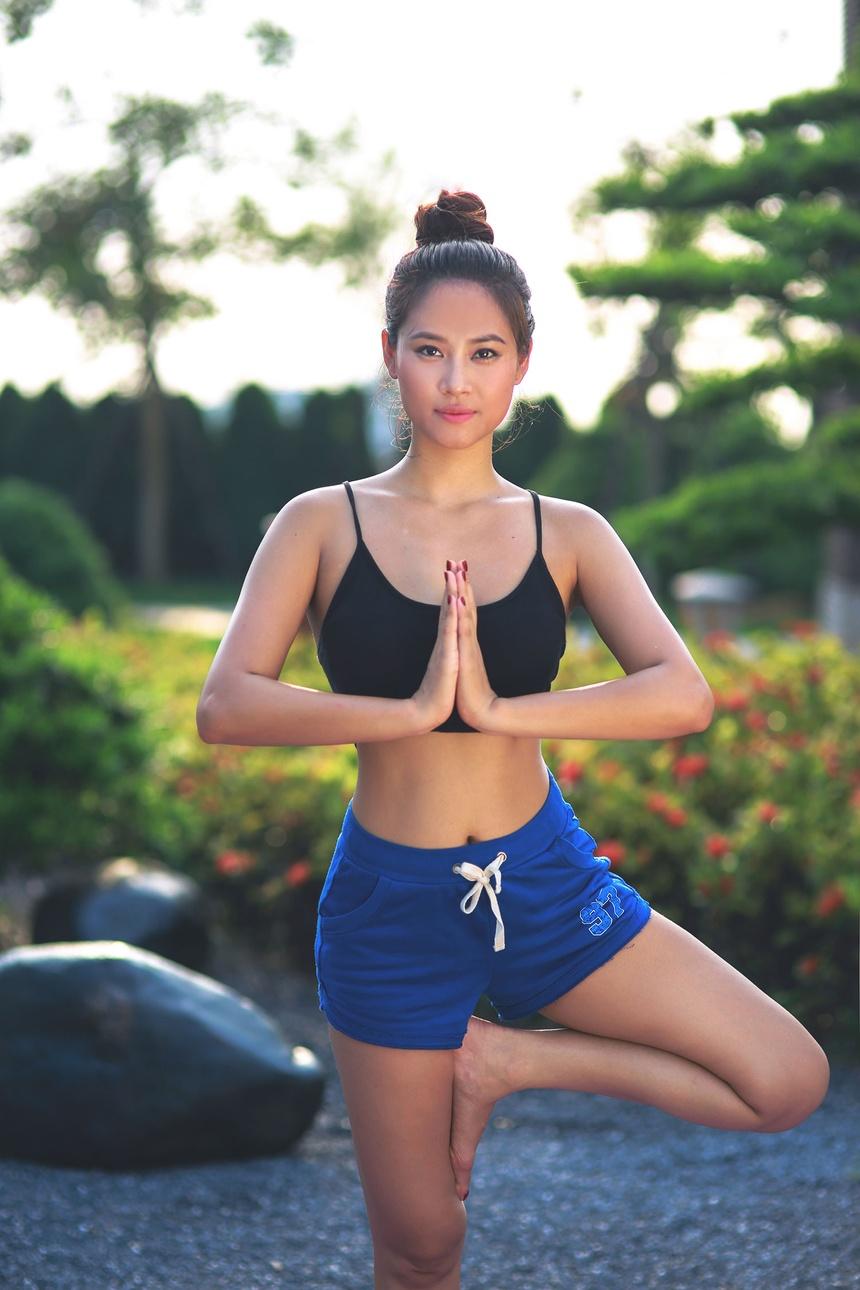 So huu 3 vong nong bong voi yoga cung Van Anh hinh anh 4