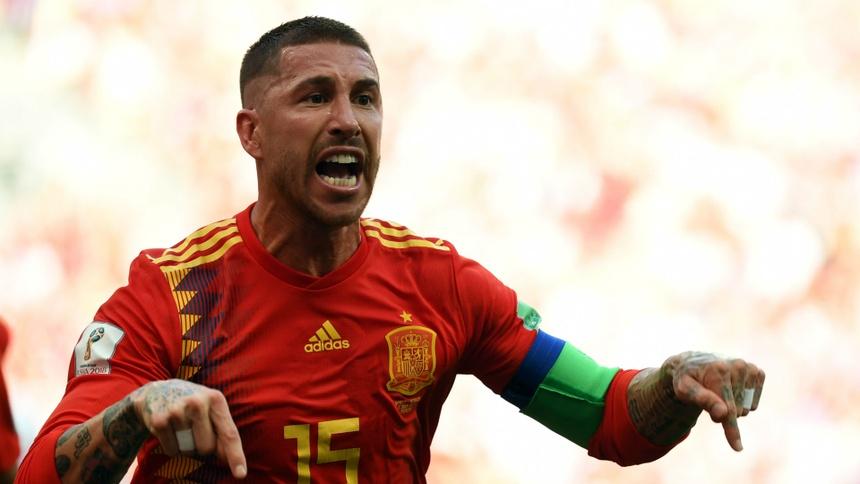Ramos bi loai Tay Ban Nha euro 202- anh 1