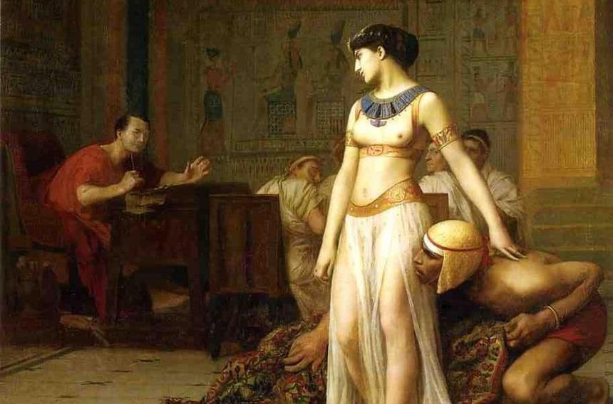 Caesar tung ngu voi mot vua khac, co con voi nu hoang Cleopatra hinh anh 3