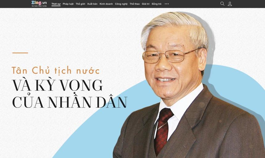 Ra mat sach ve Tong bi thu, Chu tich nuoc Nguyen Phu Trong hinh anh 2