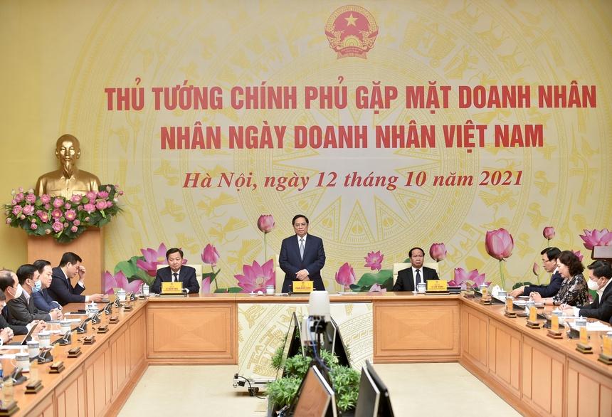 Thu tuong Pham Minh Chinh gap mat doanh nghiep anh 2