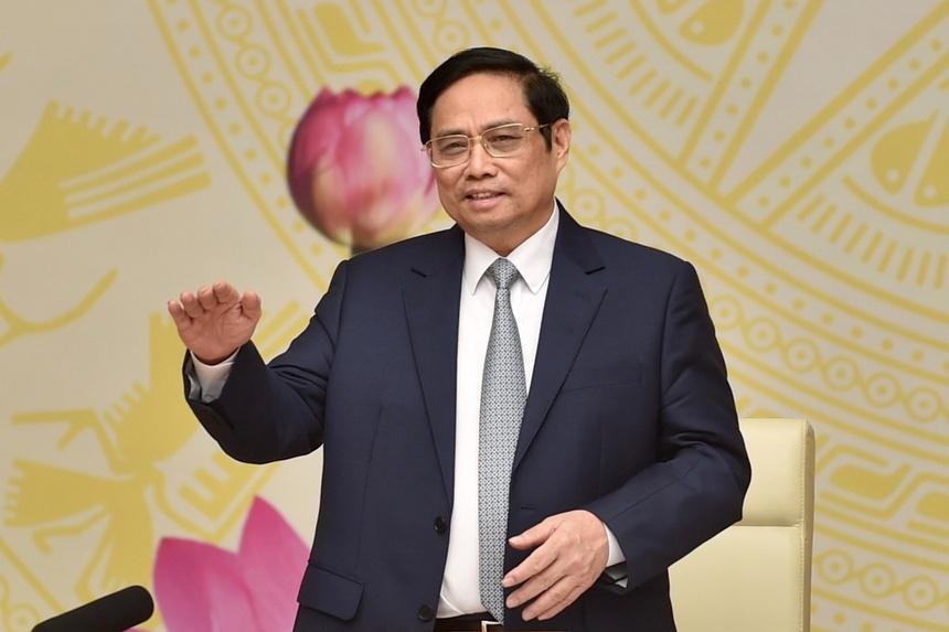 Thu tuong Pham Minh Chinh gap mat doanh nghiep anh 1