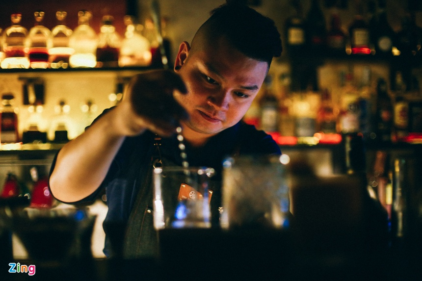 Mot dem cua anh chang bartender Sai Gon hinh anh 4