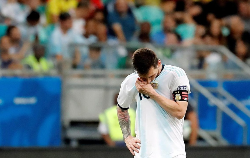 Lionel Messi toi nghiep o doi tuyen Argentina hinh anh 1