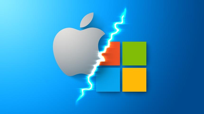 Windows 11 tao ra su canh tranh giua Microsoft va Apple anh 1