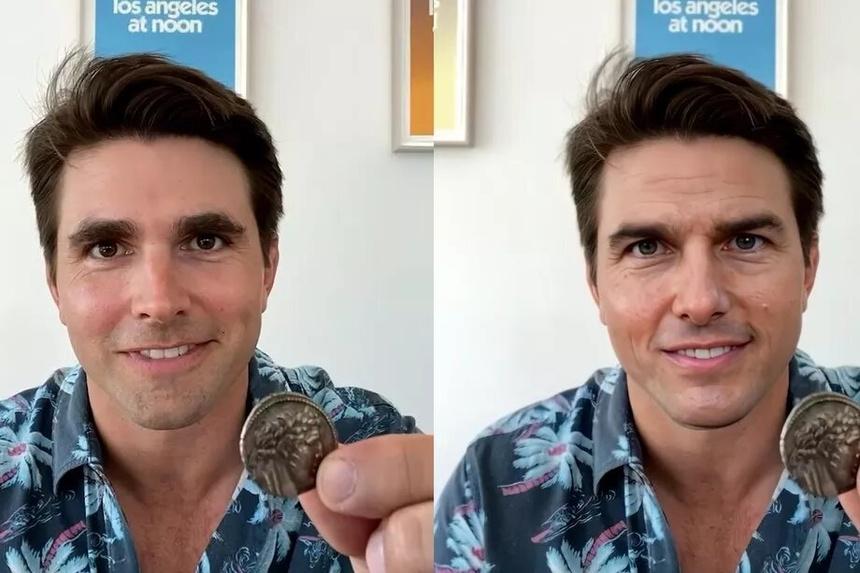 Video dong gia Tom Cruise tren TikTok anh 2