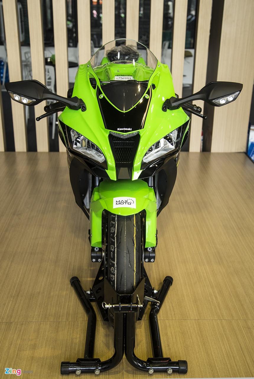 Chi tiet sieu moto Kawasaki ZX-10R gia 549 trieu dong tai VN hinh anh