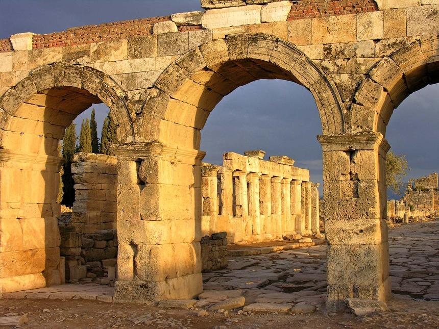 Cong dia nguc Hierapolis anh 1