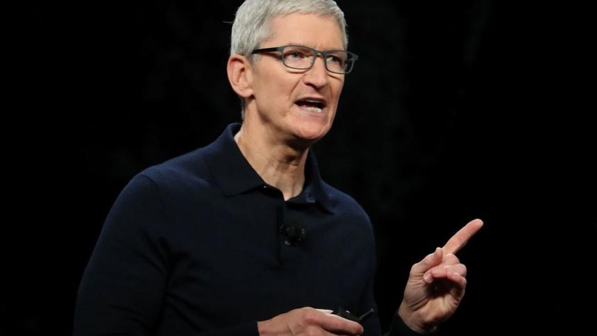 Tim Cook nhan dinh cuoc chien Apple - Facebook anh 1
