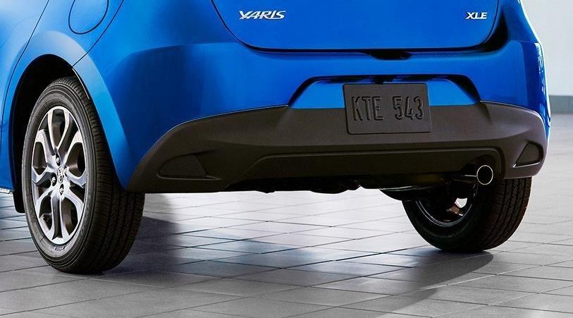 Toyota Yaris 2020 lo dien, bat ngo so huu thiet ke giong Mazda hinh anh 3