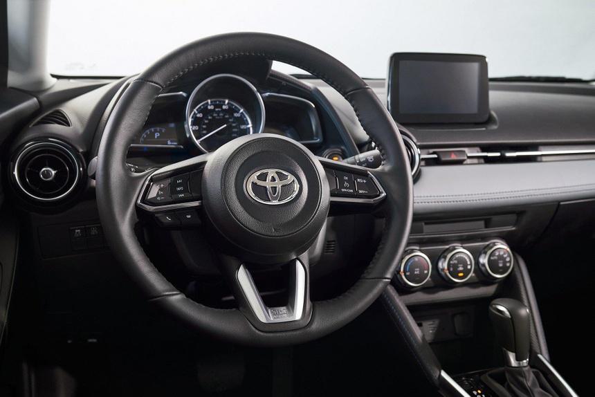 Toyota Yaris 2020 lo dien, bat ngo so huu thiet ke giong Mazda hinh anh 5
