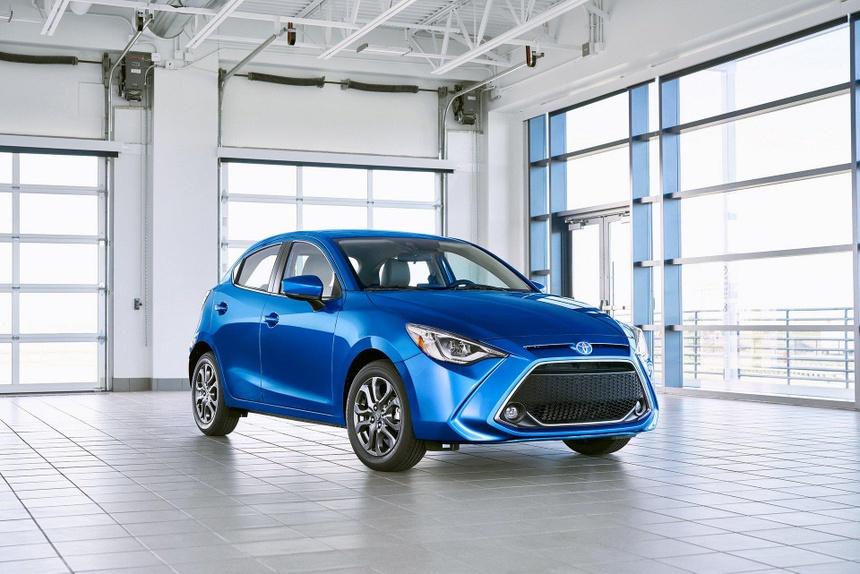 Toyota Yaris 2020 lo dien, bat ngo so huu thiet ke giong Mazda hinh anh 1