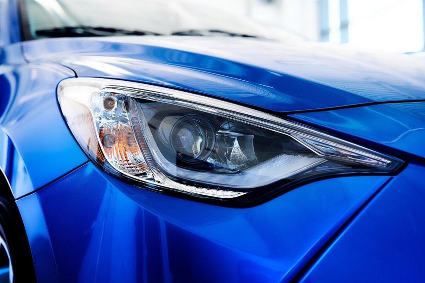 Toyota Yaris 2020 lo dien, bat ngo so huu thiet ke giong Mazda hinh anh 8