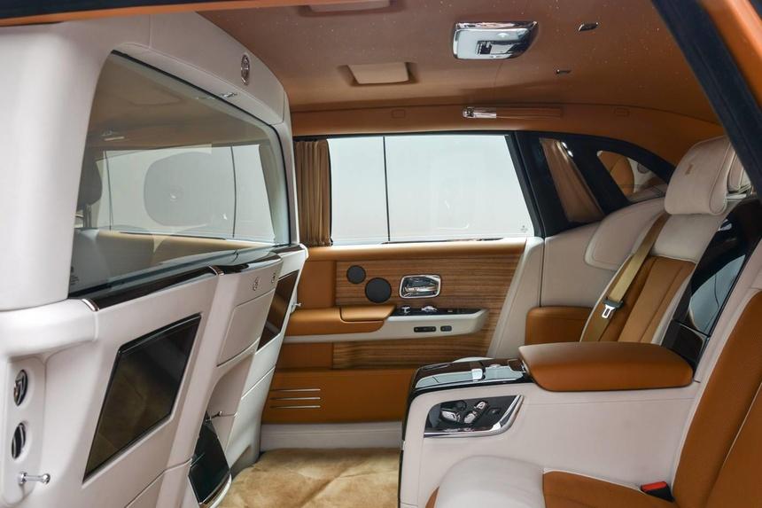 Rolls-Royce Phantom ban dac biet voi vach ngan rieng tu tuyet doi hinh anh 4