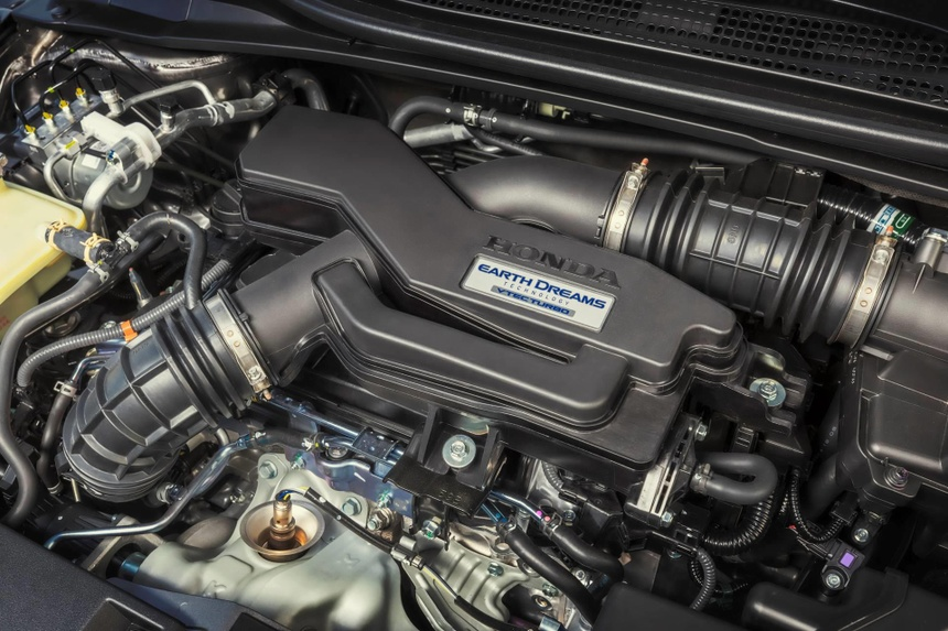Honda HR-V 2019 them dong co tang ap, thay doi nhe noi ngoai that hinh anh 4