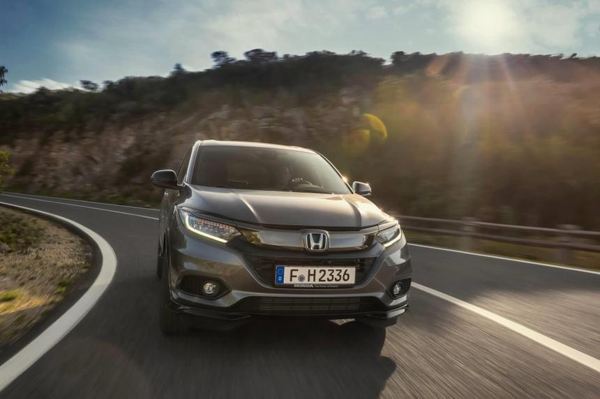Honda HR-V 2019 them dong co tang ap, thay doi nhe noi ngoai that hinh anh 7
