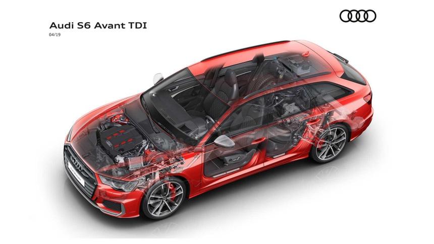 Xe sang Audi S6 va S7 2020 lo dien, gia tu 86.379 USD hinh anh 5