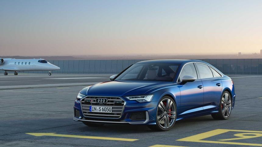 Xe sang Audi S6 va S7 2020 lo dien, gia tu 86.379 USD hinh anh 1