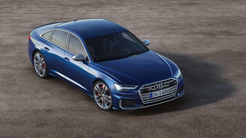 Xe sang Audi S6 va S7 2020 lo dien, gia tu 86.379 USD hinh anh 9