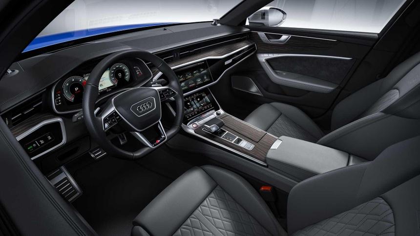 Xe sang Audi S6 va S7 2020 lo dien, gia tu 86.379 USD hinh anh 7