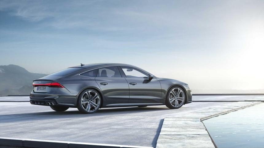 Xe sang Audi S6 va S7 2020 lo dien, gia tu 86.379 USD hinh anh 3