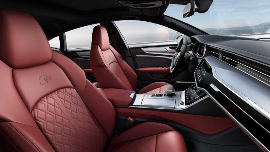 Xe sang Audi S6 va S7 2020 lo dien, gia tu 86.379 USD hinh anh 6