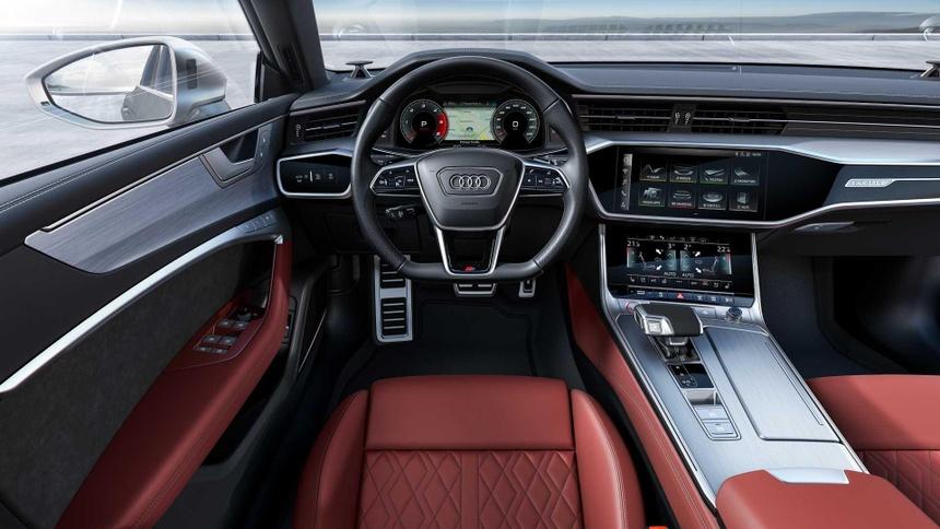 Xe sang Audi S6 va S7 2020 lo dien, gia tu 86.379 USD hinh anh 8