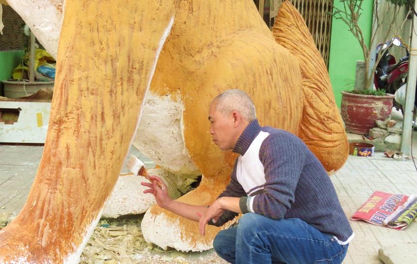 Mo Hinh Cho Khong Lo Don Xuan Mau Tuat O Dat Cang Hinh Anh 5