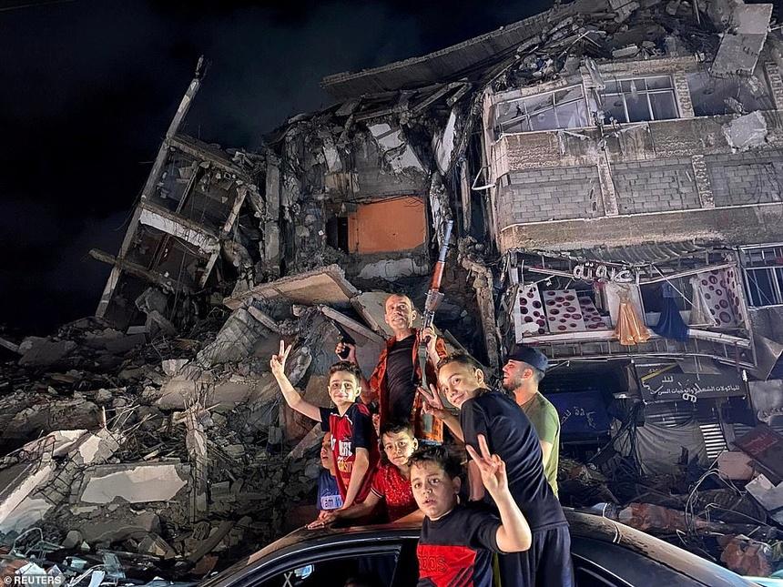Xung dot o Dai Gaza anh 4